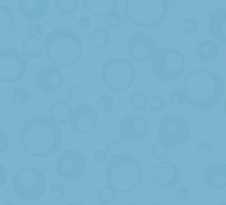 Bleu Turquoise Bubbles